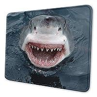 サメ マウスパッド 18 X 22cm 滑り止め 防水 おしゃれ 洗える ビジネス用 家庭用 ゲーム用