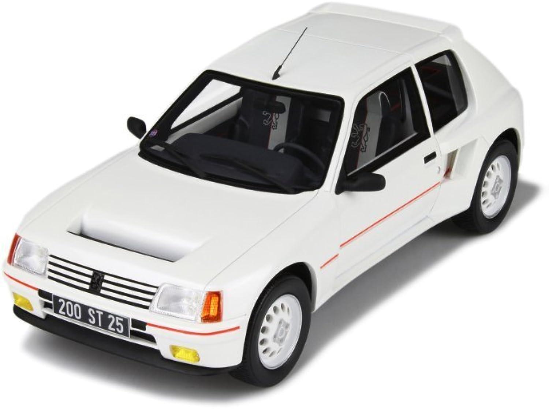 Peugeot 205 T16 weiss Modellauto OT612 Otto 1 18
