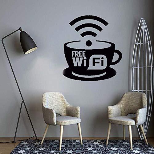 pegatina wifi de la marca