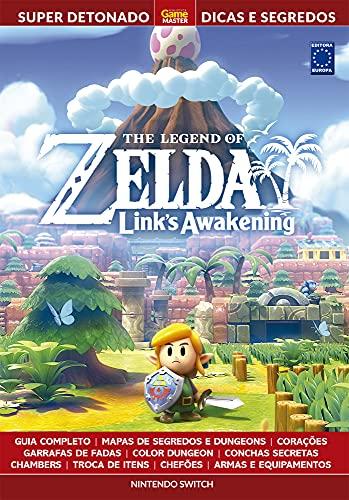 Super Detonado Game Master Dicas e Segredos - The Legend of Zelda Links Awakening: Livro Super Detonado Dicas e Segredos