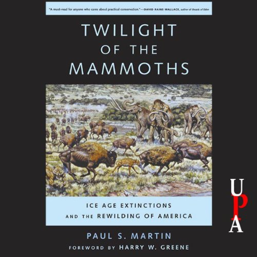 Twilight of the Mammoths audiobook cover art