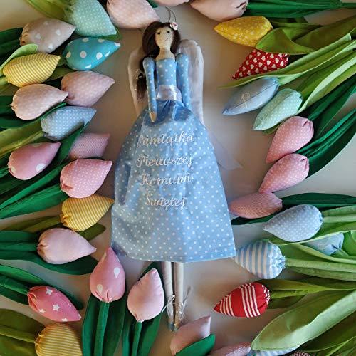 Personalisierte Engel, Engel Puppe, Tilda Engel, Erstkommunion, dein Schutzengel, Text,