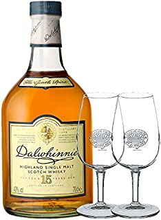 Dalwhinnie 15 Jahre Single Malt Whisky 0,7 Liter 2 Classic Malt Whiskygläser