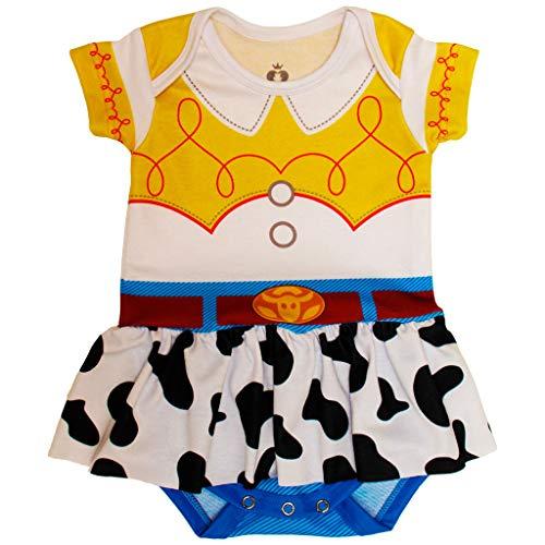 Body Fantasia Bebê Estampado Jessie - Isabb (P - 2 A 4 MESES)
