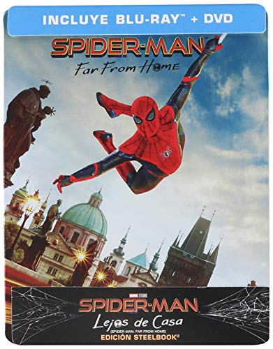 Spider-Man (Lejos de Casa Steelbook) [Blu-ray], (La portada puede variar)