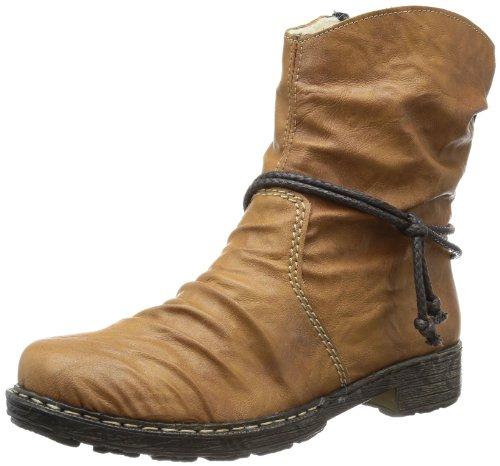 Rieker Damen 79292-23 Cowboy Stiefel, Braun (nuss / 23), 42 EU