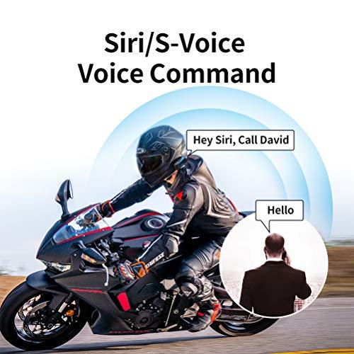 LEXIN B4FM Motorradhelm Intercom, Bluetooth Motorrad Headset Windgeräuschreduzierung, Bluetooth-Kommunikationssystem für Motorräder - 8