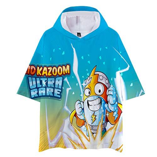 Superzings Maglietta T-Shirt a Maniche Corte Design alla Moda Comfy Basic Manica Corta Tshirt Mens Stampa Trendy Manica Corta T Shirt Light Elegante Manica Corta Uomo (Color : A05, Size : S)