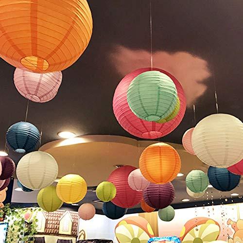 shihao159 Lampion Ball Papier Lantaarn, Ophangende Chinese Karakter Thuis Decor Feestartikelen Bruiloft Decoratie Lampenkap