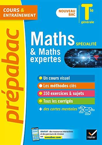 Prépabac Maths (spécialité) & Maths expertes (option) Tle générale - Bac 2022: nouveau programme de Terminale
