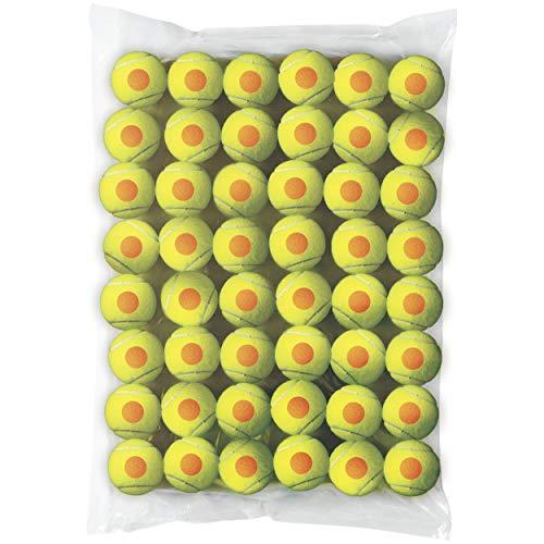 Wilson WRT13730B Palline da Tennis Starter Orange, per Bambini, Giallo/Arancione, Confezione da 48