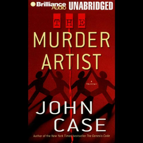 The Murder Artist audiobook cover art