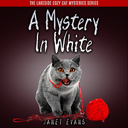 A Mystery in White audiobook cover art