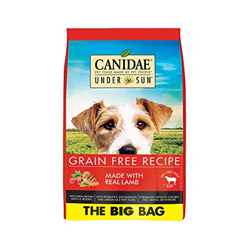 CANIDAE Under the Sun Grain Free Adult Dog Food with Lamb, 40 lb
