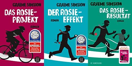 Das Rosie-Projekt Band 1-3 plus 1 exklusives Postkartenset