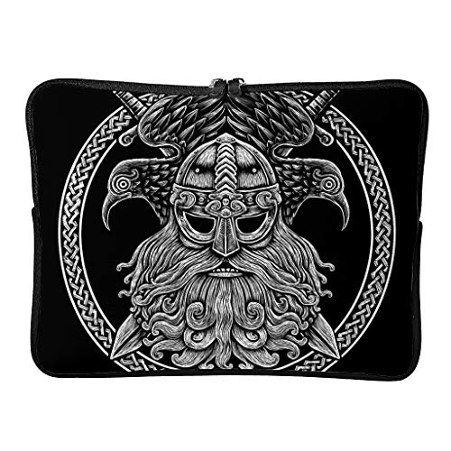 Viking Laptop Bags Personalised Daily Large - Laptop Protection Suitable for Commuter White 12 Inch