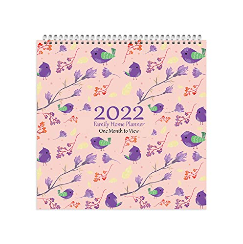 Arpan 2022 Family Home Planner Wall Calendar. Month-to-View Family Organiser with 5 Columns. Runs from 1st Jan' 2022 to 31st Dec' 2022. Planner