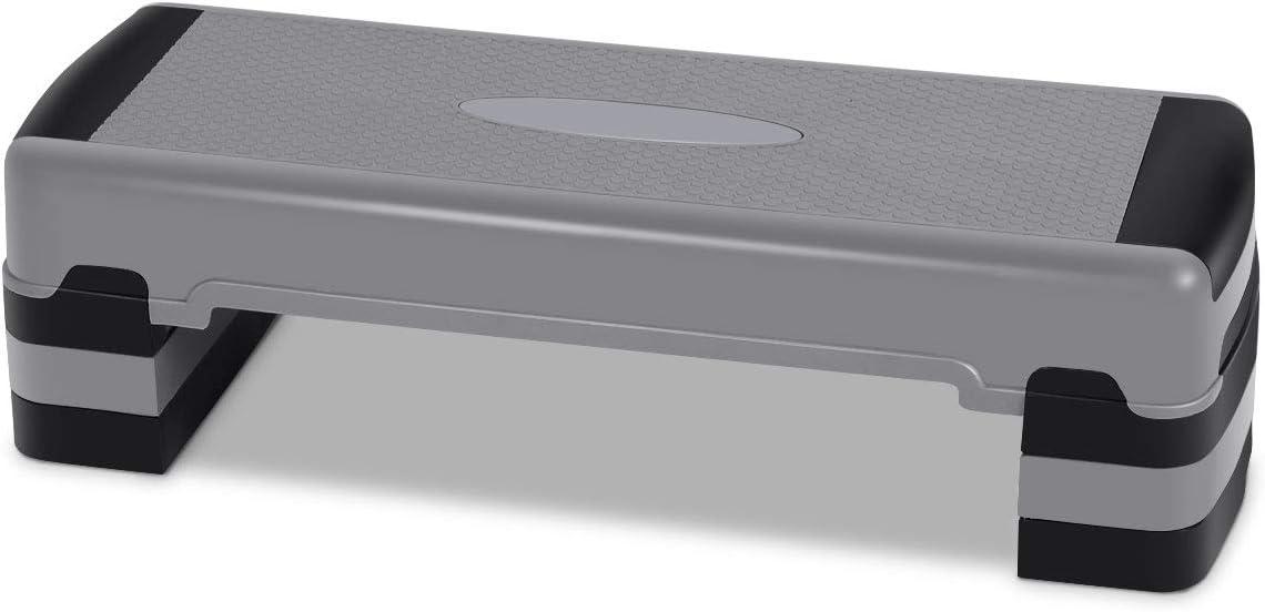 Casart Aerobic Exercise Step オンライン限定商品 Platform Non-Slip Surface W 35 お金を節約 Inch