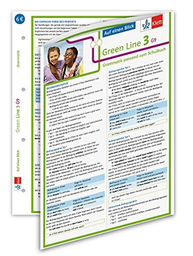 Klett Green Line 3 G9 Klasse 7 - Auf einen Blick: Grammatik passend zum Schulbuch