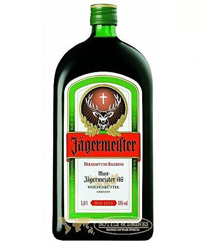 Jägermeister aus Deutschland 1,0 Liter