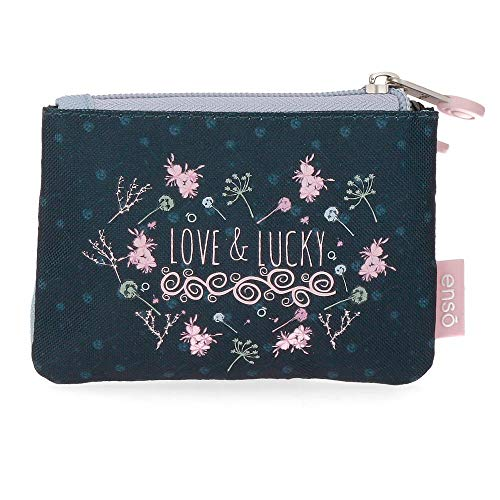 Enso Love and Lucky Monedero Multicolor 12x8x2 cms Poliéster