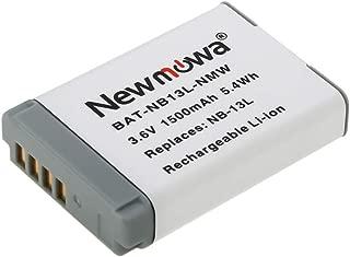 Newmowa NB-13L バッテリー 1個 対応機種 Canon NB-13L Canon PowerShot G5X G7X G9X G7 X Mark II G9X Mark II SX620 HS SX720 HS SX730 HS SX740 HS