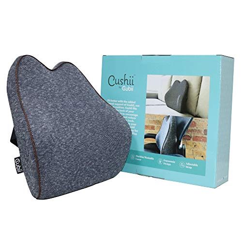 Cushii by Cubii - Lateral Lumbar Support Cushion - Relieve Back Pain - Improve Posture