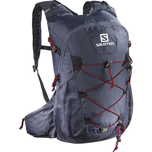 SALOMON Evasion 20 Hiking Backpack, 45 cm, 50 Liters, Maize/Big Blue-X