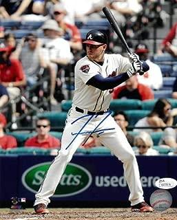 Signed Freddie Freeman Photo - 8x10#5 Hologram at bat) - JSA Certified - Autographed MLB Photos
