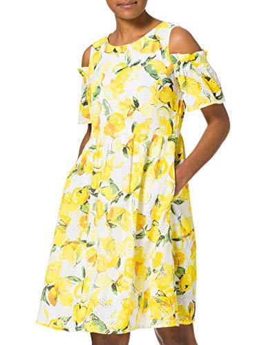 BOSS Damen Alemy1 Kleid, Mehrfarbig (Open Miscellaneous 997), 40