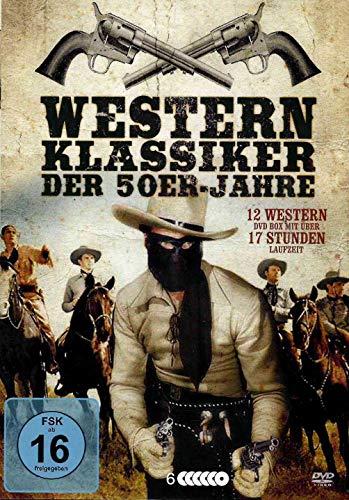 Western der 50er Jahre - Eine Auslese der schönsten Klassiker - Box mit 12 Filmen [6 DVDs]