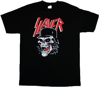 Slayer - Skull Helment - Men's T-Shirt Black