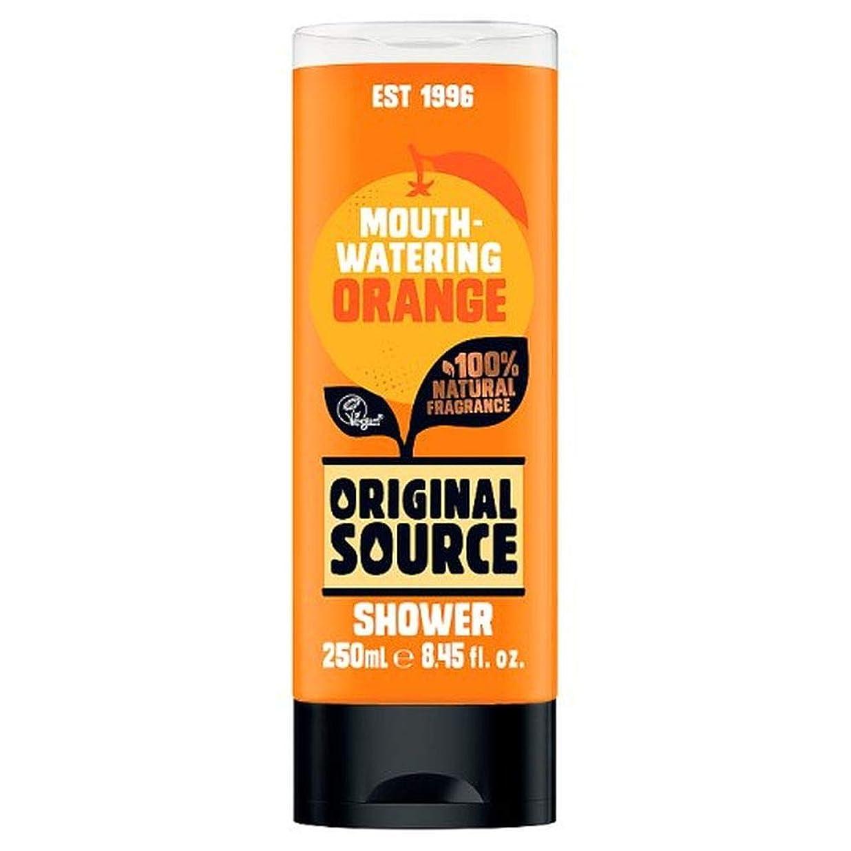 策定する振りかけるくま[Original Source ] 元のソースオレンジシャワージェル250ミリリットル - Original Source Orange Shower Gel 250Ml [並行輸入品]