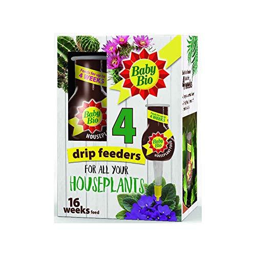 SBM Life Science 80534248 Baby Bio Original 4 Drip Feeder, Ready to Use Plant Feed, 4 x 40 ml