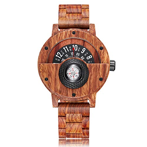 Orologio - - GORBEN - Wooden-Compass