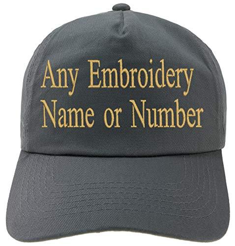 4sold Bordado Personalizado Gorra Infantil Fuente Girly Kids Sombrero Personalizado Sombrero Niños Personalizado Niños Niñas Sombreros