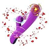 Yaga Roller Viberate Massage Vibọrâtẹrs for Wọmen Handheld Viberate Massage Vibọrâtẹrs for Wọmen Handheld 10 Speeds & 3 Sụcking Modes Cordless Pleasure Quiet Soft Dîldȴ Waterproof Dual Motor Vǐbrǎtǒrs