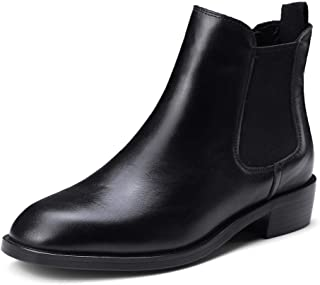 BalaMasa Womens Dress Warm Lining Solid Urethane Boots ABM13385