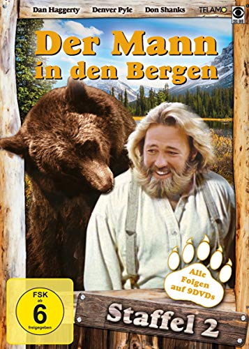 Der Mann in Den Bergen (Staffel 2) [9 DVDs]