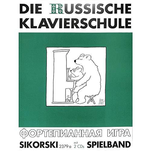 De Russische piano school aanvullende speelband (Band 3) incl. 2 CD's - Duitse uitgave met meer dan 60 speel- en oefenstukken (noten)