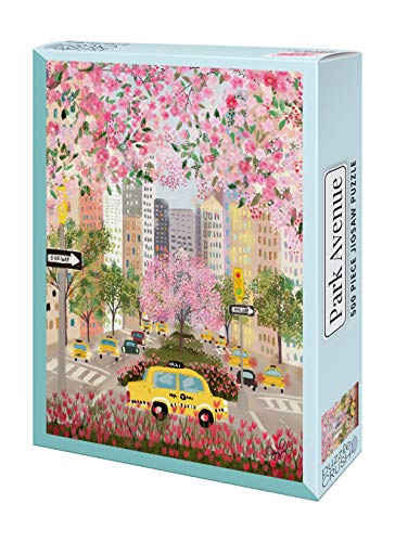 Compare Textbook Prices for Puzzles for Adults 500 Piece: Park Avenue Jigsaw Puzzle  ISBN 9781952842153 by Puzzle Crush,Joy Laforme;Joy Laforme,Joy Laforme;Joy Laforme