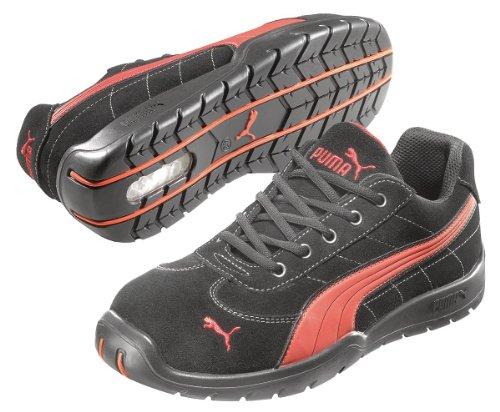 Athletic Work Shoes, STL, Mn, 8, Blk, PR