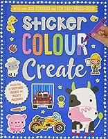 Farm Animals And Big & Mighty (Sticker Colour Create)