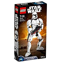 Fire the spring-loaded shooter and reload with the extra ammunition Move the limbs into any battle pose Sturdy and durable design for intense action play Play out exciting combat scenes with this iconic character from the blockbuster Star Wars: The f...