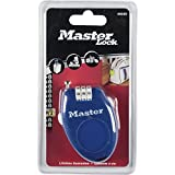 Master Lock 4603EURD 4603 CABLE 0.70MX2MM RETACTABLE CIERRE COMBINACION (4u VARIOS COLORES), MULTICOLOR, ESTANDAR