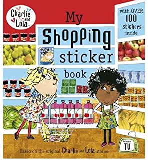 [(My Shopping Sticker Book)] [By (author) Lauren Child] published on (August, 2011)