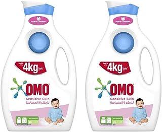 OMO Liquid Laundry Detergent Sensitive Skin, 2L (Pack of 2)