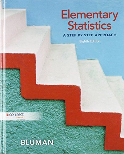Elementary Statistics: A Step by Step Approach;A Step By Step Approach