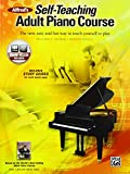 Alfred's Self-Teaching Adult Piano Course: The new, easy and fun way to teach yourself to play, Book & Online Audio
