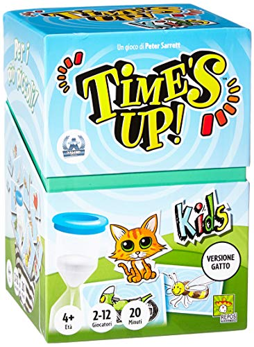 Asmodee - Jeu Times Up Kids, édition Italienne, 8214